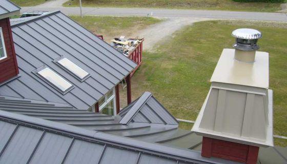 Revêtement mural, toit profilé métal